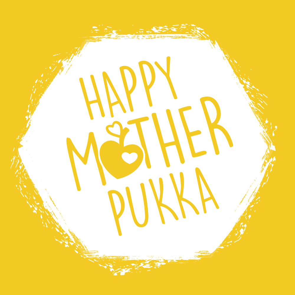 Happy Mother Pukka Logo Design