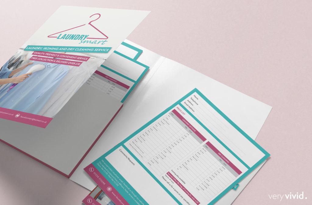 Laundry Smart Presentation Folder
