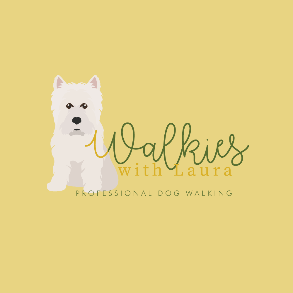 Walkies with Laura Logo Design