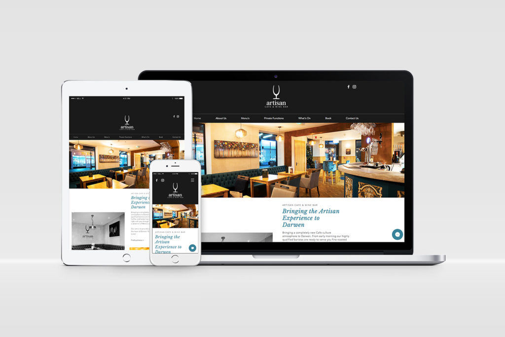 Artisan Website Design and Development