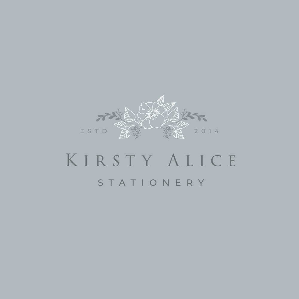 Logo Design for Kirsty Alice Stationery, by Very Vivid