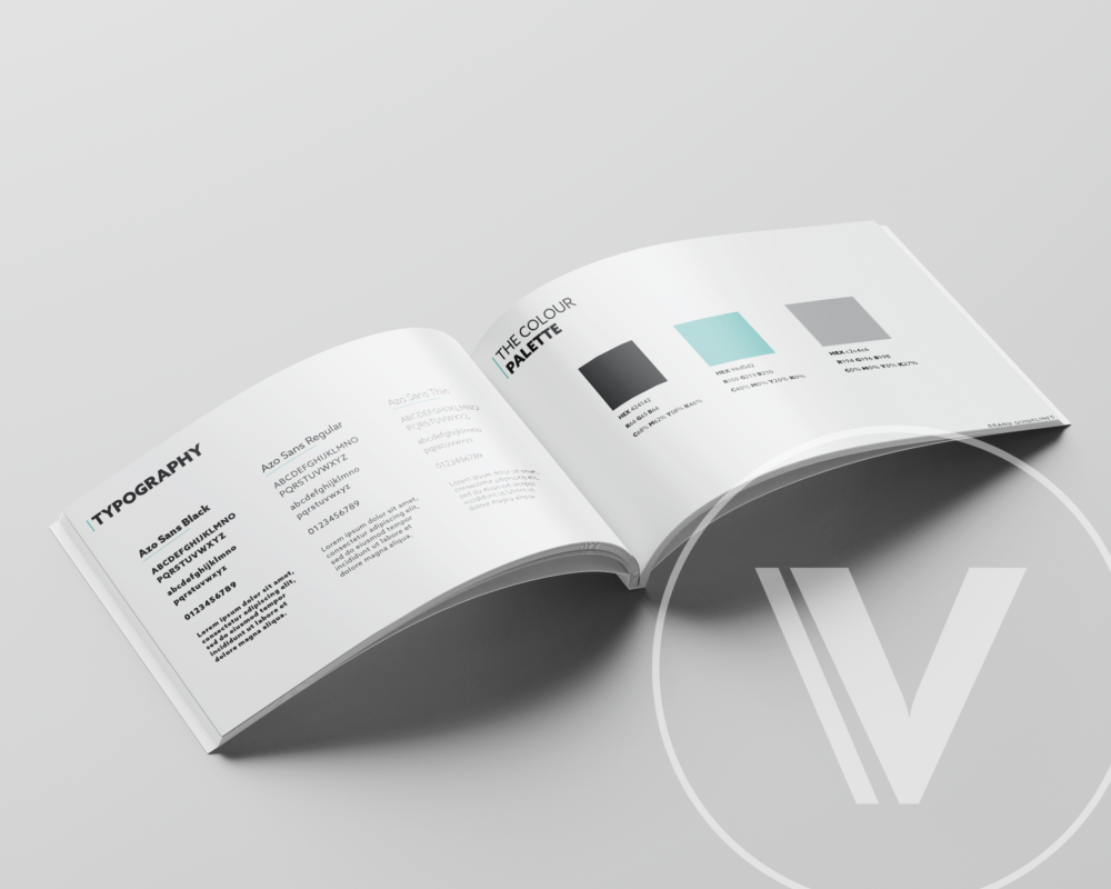 Brand book design for Outsourced Back Office, Payroll Solutions, Lancashire