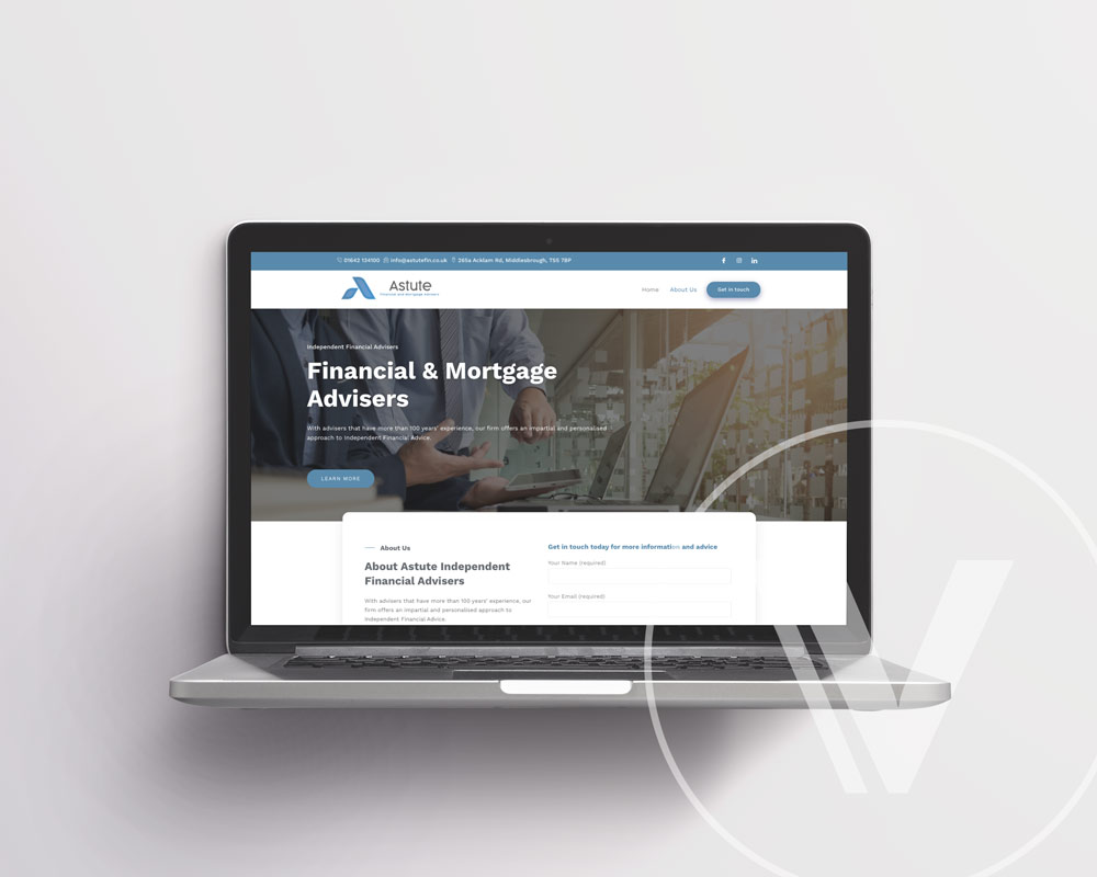 Website Development for Astute Financial & Mortgage Advisers