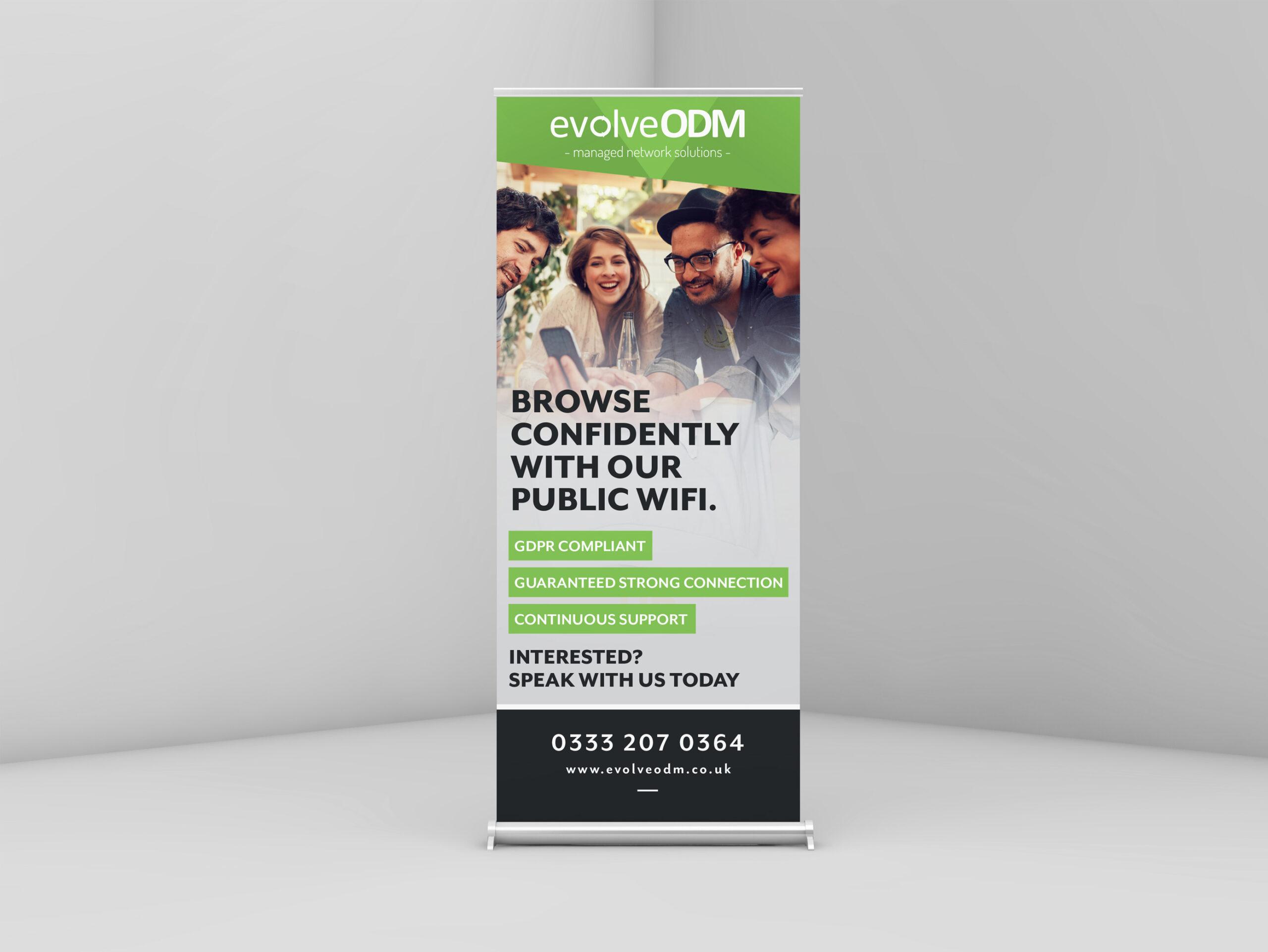 EvolveODM Marketing Material design and print by Very Vivid Graphic Designer Blackburn, Lancashire