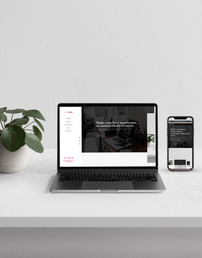 Graphic Design & Website Development services by Very Vivid, Blackburn Lancashire.
