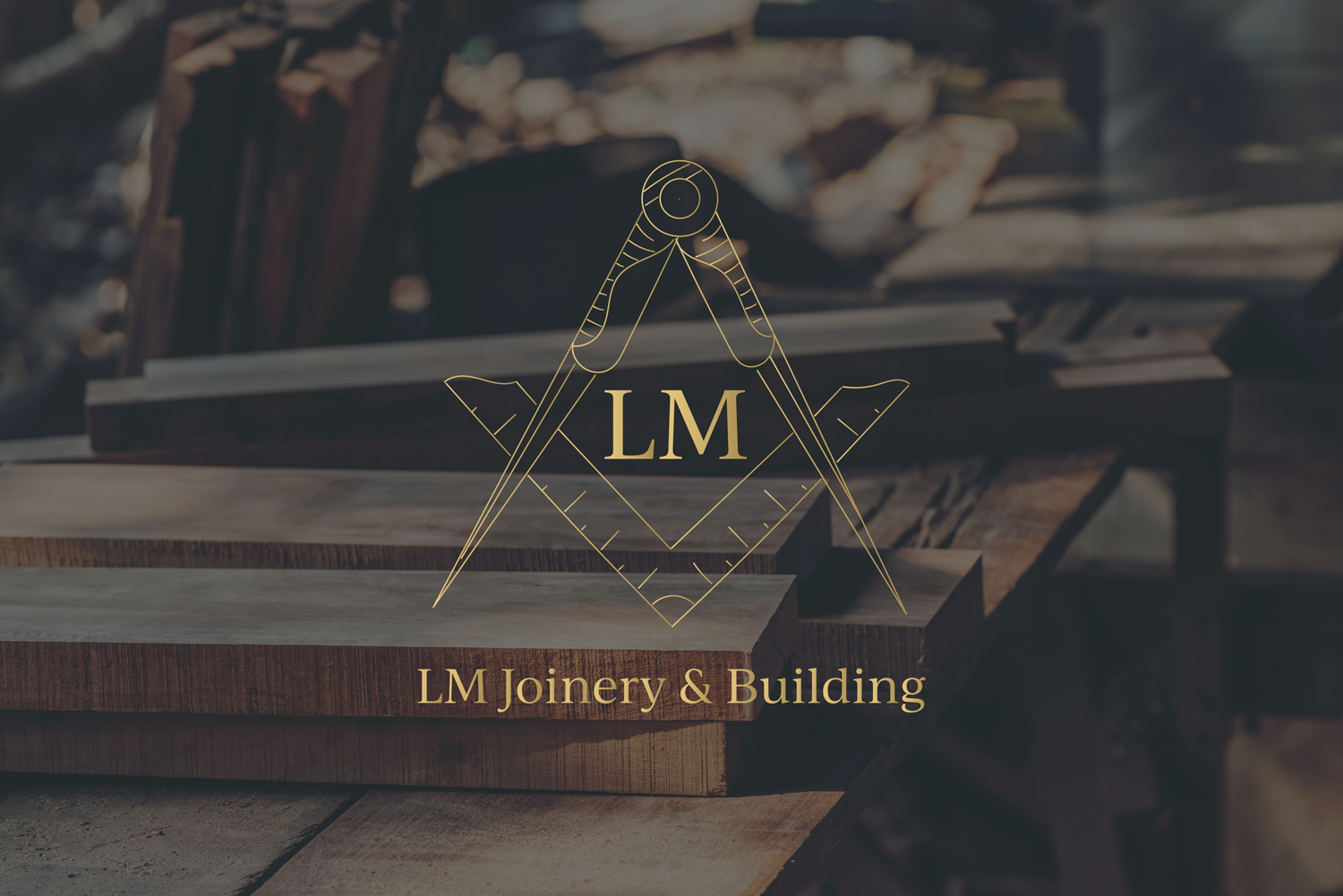 Logo Design & Branding for LM Joinery and Building, Lancashire Graphic and Web Designer