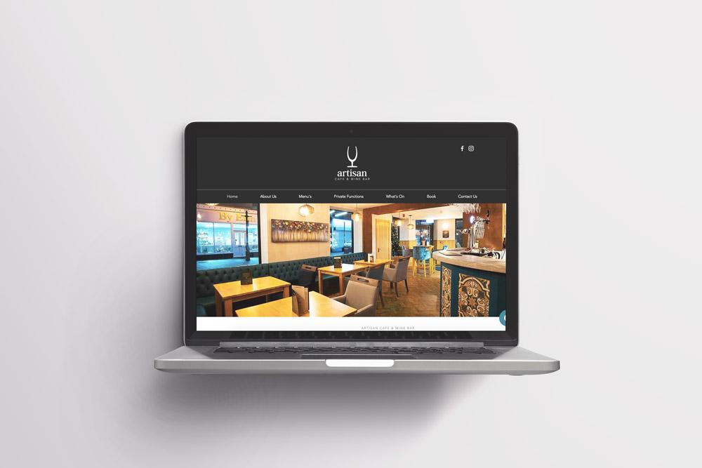 Artisan Cafe & Wine Bar Website Development by Very Vivid Digital Marketing Lancashire