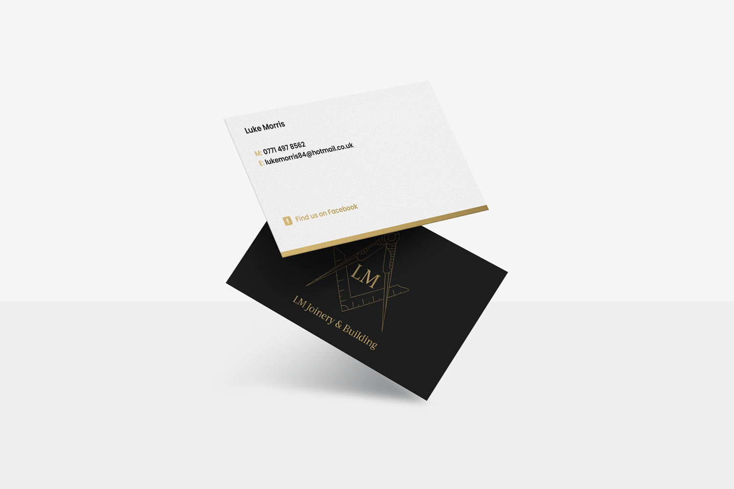 Business Card Design for LM Joinery & Building