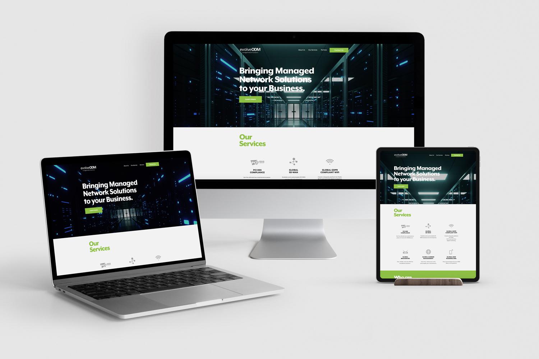 EvolveODM Public Wifi Providers, Website Development by Very Vivid, Digital Marketing Experts, Lancashire.