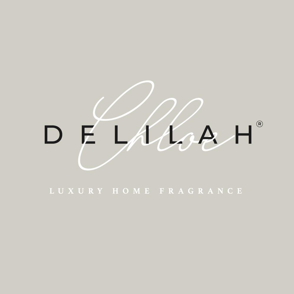 Logo Design Services Blackburn, Branding for Delilah Chloe luxury home fragrance brand