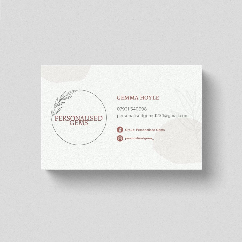 Business Card Design Blackburn. Very Vivid Digital Marketing Agency