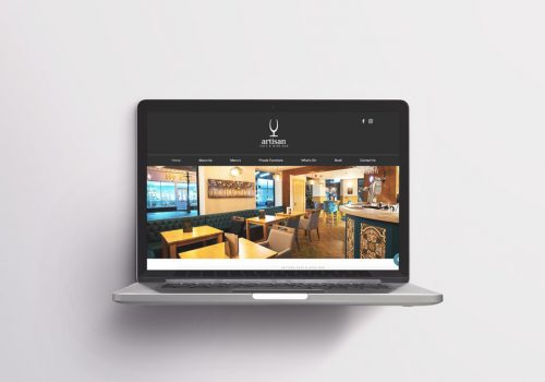 Artisan Cafe & Wine Bar Darwen, Website Design & Development by Very Vivid