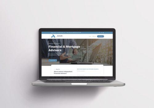 Astute Financial & Mortgage Advisers Website Design & Development by