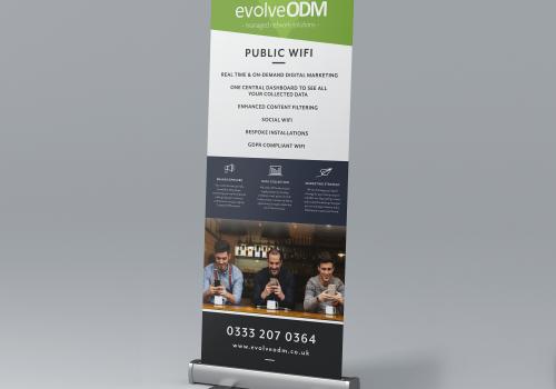 eVolve ODM Roller Banner Design
